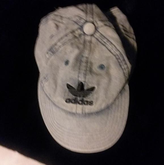 6f71cb58eb7 Adidas demin hat baseball cap hat